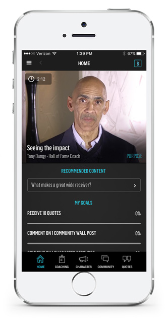 icoach Tony Dungy