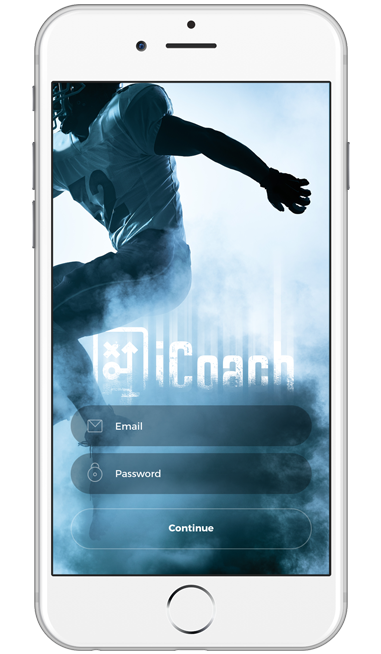 icoach app home